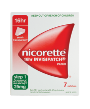 NICORETTE® Nicotine 16hr INVISIPATCH®